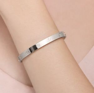 NEW Screw Stainless Steel Plated Bangle Bracelet
